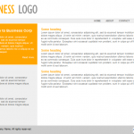 Free Expression Web Template for Small Business