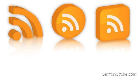 3D Mirrored RSS Icons