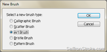 New Brush dialog box