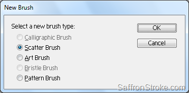 New Brush dialog