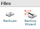 Backup Websites on BlueHost