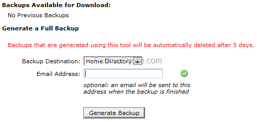 Backup Wizard 3