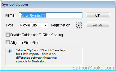 Symbol Options dialog box
