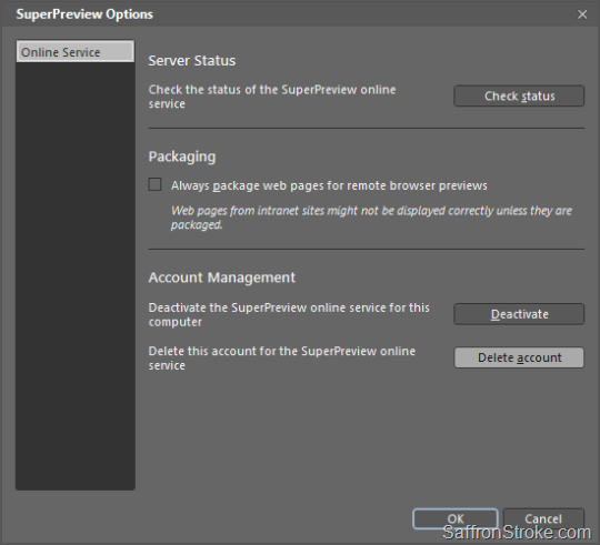 SuperPreview_options