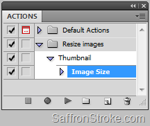 Actions in Photoshop and Illustrator CS5