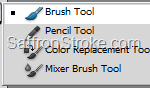 Brush Tool in Photoshop